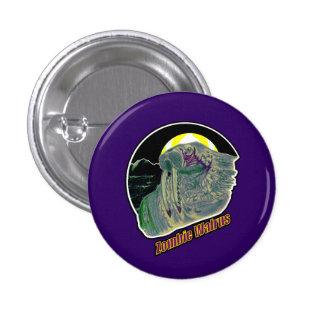 Zombie Walrus On Purple Button