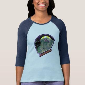 Zombie Walrus Original-Distressed Look Purple 2 T-Shirt