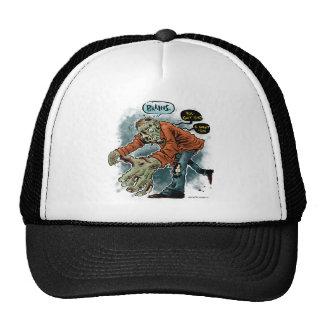 Zombie Want Brains - light shirt Trucker Hat