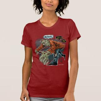 Zombie Want Brains - womens Shirt