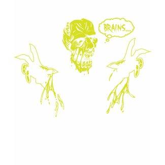 Zombie Wants Brains shirt