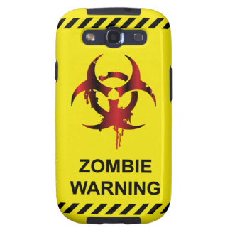 Zombie Warning Case-Mate Samsung Galaxy S3 Vibe Samsung Galaxy S3 Case