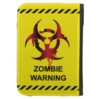 Zombie Warning Caseable Kindle Folio Cases For The Kindle