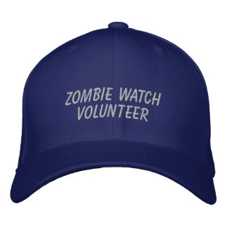 Zombie Watch Volunteer Embroidered Baseball Hat