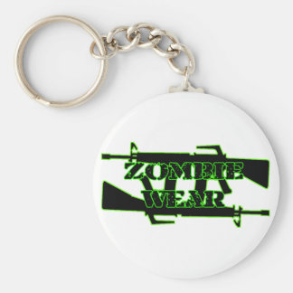 Zombie Wear Machine gun Keychain