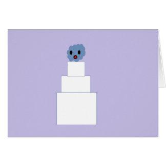 Zombie Wedding Cake Card