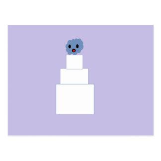Zombie Wedding Cake Postcard