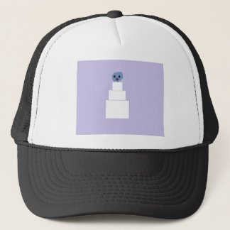 Zombie Wedding Cake Trucker Hat