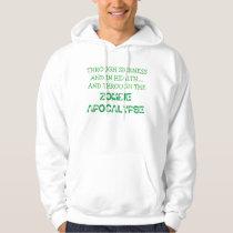 zombie wedding sweatshirt men