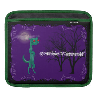 Zombie Werewolf Sleeves For iPads