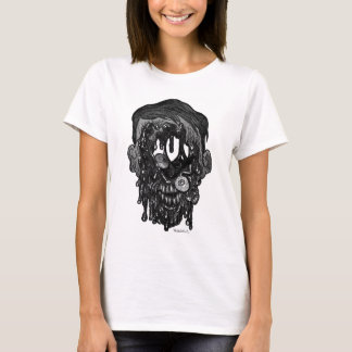 zombie whith hole in face T-Shirt