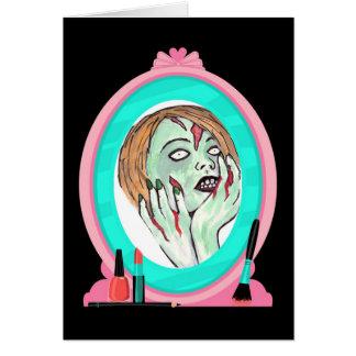 Zombie Wisdom Birthday Card