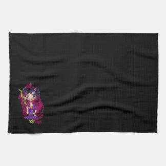 Zombie Witch Hand Towel