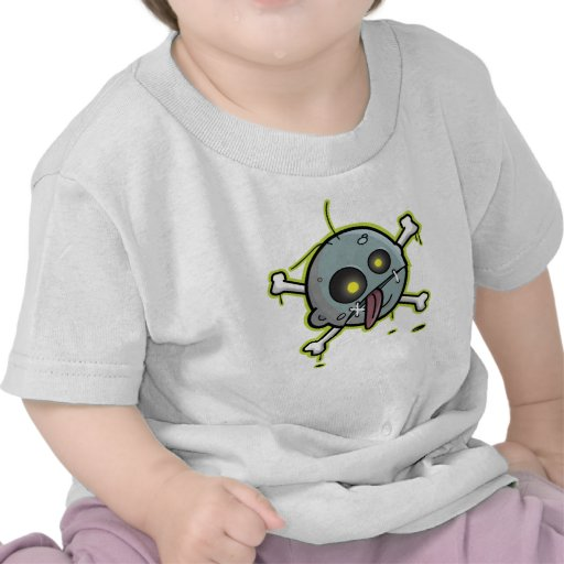 Zombie with Crossbones Infant T-Shirt