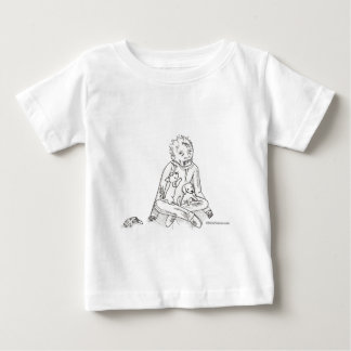 Zombie with Puppies T-shirt