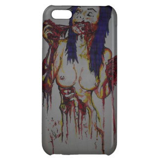 ZOMBIE WOMAN CASE FOR iPhone 5C