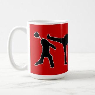 Zombie Workout Classic White Coffee Mug