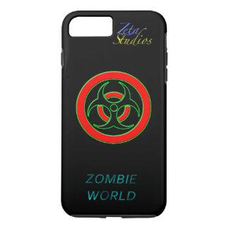 Zombie World Infected iPhone 7 Plus, Tough iPhone 8 Plus/7 Plus Case