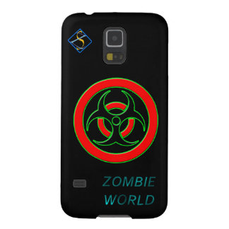 Zombie World Infected Samsung Galaxy S5, Plastic Galaxy S5 Case