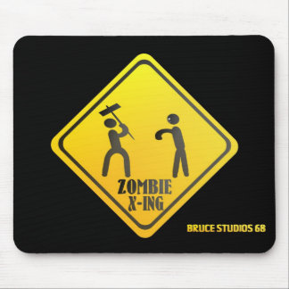 Zombie X-Ing! Mouse Pad
