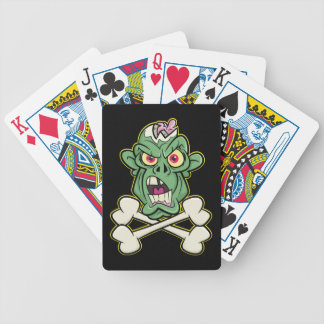Zombie Xbones '001' Playing Cards