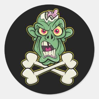 Zombie Xbones '001' Stickers