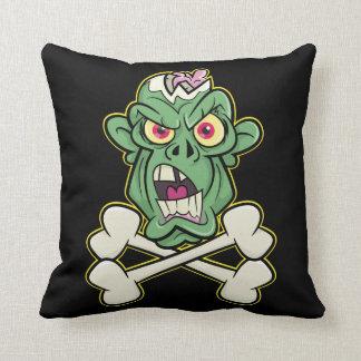 Zombie Xbones '001' Throw Pillow