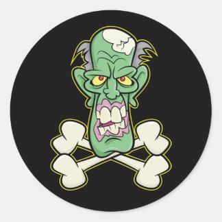 Zombie Xbones '002' Stickers