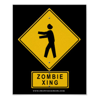 Zombie XING Posters