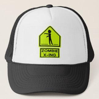 Zombie Xing Trucker Hat
