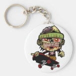 Zombie Zim Key Chains