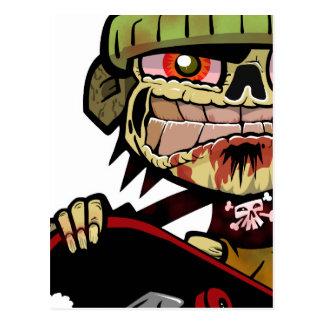 Zombie Zim Postcard