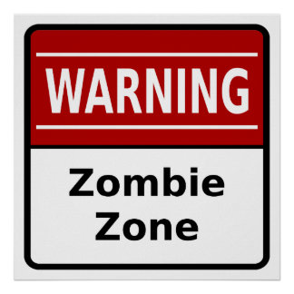 Zombie Zone Poster