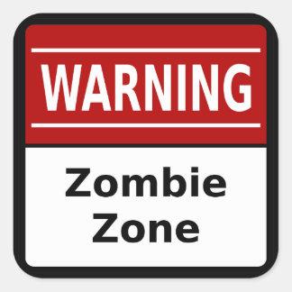 Zombie Zone Sticker