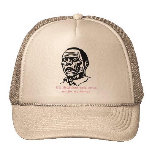 zombieboyfriend mesh hats