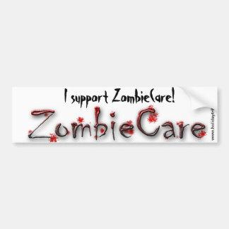 ZombieCare Bumper Sticker Car Bumper Sticker