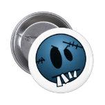 ZOMBIECON FACE - BLUE PIN