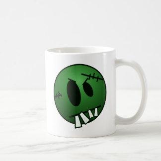 ZOMBIECON FACE - GREEN COFFEE MUG