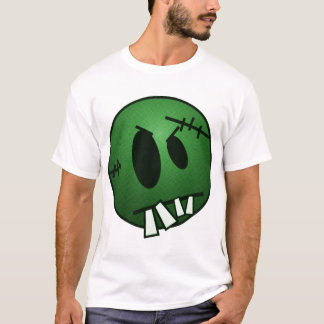 ZOMBIECON FACE - GREEN T-Shirt