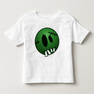 ZOMBIECON FACE - GREEN TODDLER T-SHIRT
