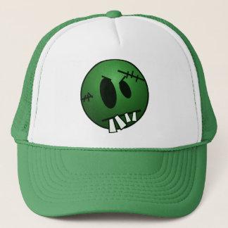 ZOMBIECON FACE - GREEN TRUCKER HAT