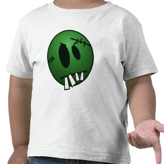 ZOMBIECON FACE - GREEN T-SHIRTS