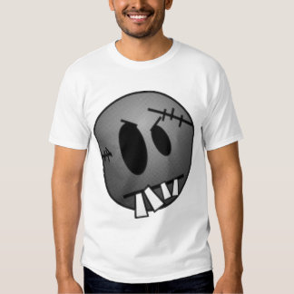 ZOMBIECON FACE - GREY B&W T-Shirt