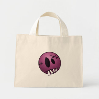 ZOMBIECON FACE - PINK TOTE BAGS