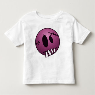 ZOMBIECON FACE - PINK TODDLER T-SHIRT