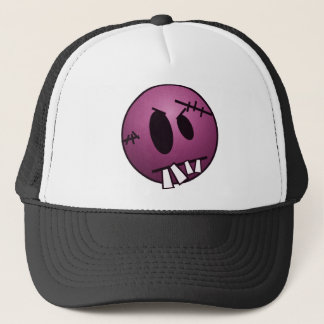 ZOMBIECON FACE - PINK TRUCKER HAT