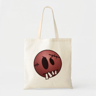 ZOMBIECON FACE - RED CANVAS BAGS