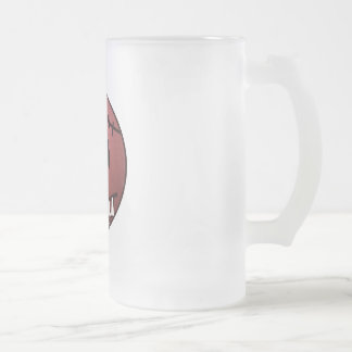 ZOMBIECON FACE - RED COFFEE MUGS