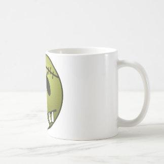 ZOMBIECON FACE - YELLOW COFFEE MUG
