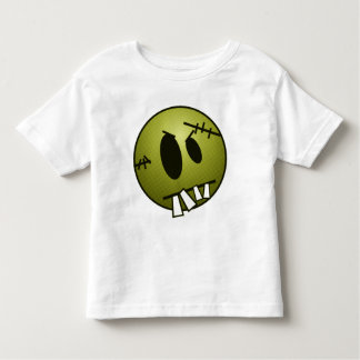 ZOMBIECON FACE - YELLOW TODDLER T-SHIRT